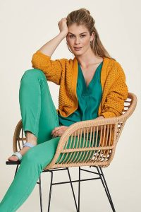 OUTFIT VERDE DONNA TRANQUILLO